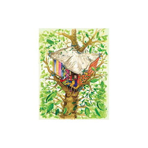Image of 'The Terrific Tree House' Limited Edition Print 2