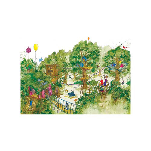 Image of 'The Treetop Village' - Limited Edition Print 3