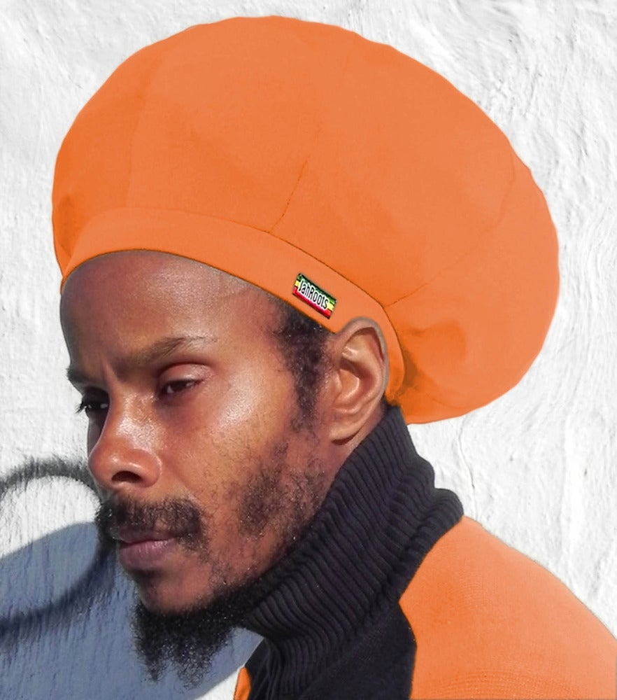 Image of Jah Roots Stretch Hats (Orange)