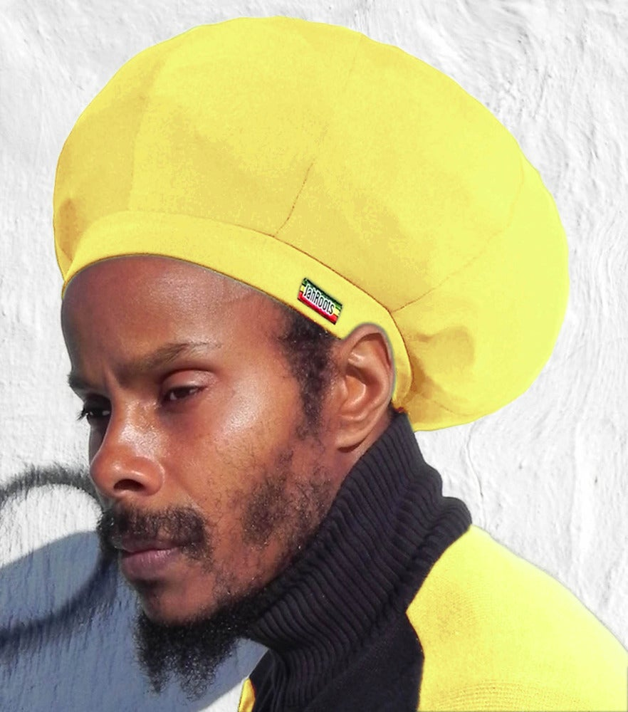Image of Jah Roots Stretch Hats (Yellow)