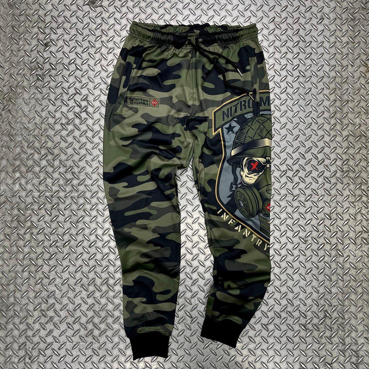 """Image of Nitro Mulisha """"Infantry"""" Joggers"""