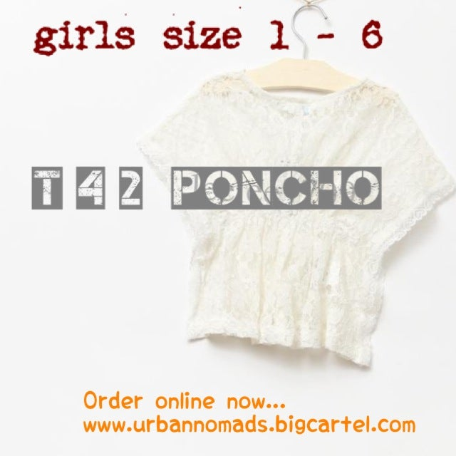 Image of T42 poncho