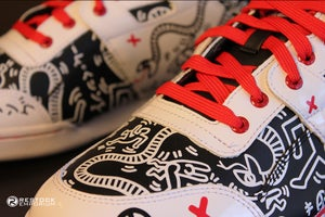 Image of Reebok Workout Plus R12 Keith Haring