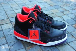Image of Air Jordan 3 Retro - Bright Crimson