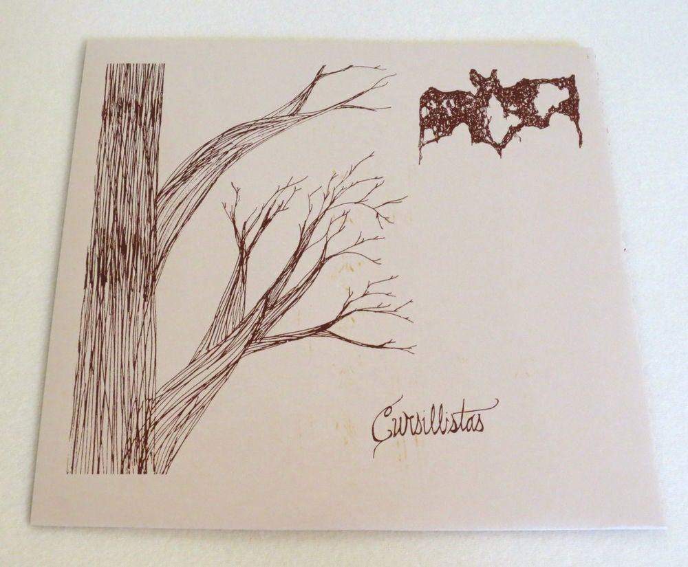Image of CURSILLISTAS ~ LES BICHES ~ lp (TIME-LAG 046)