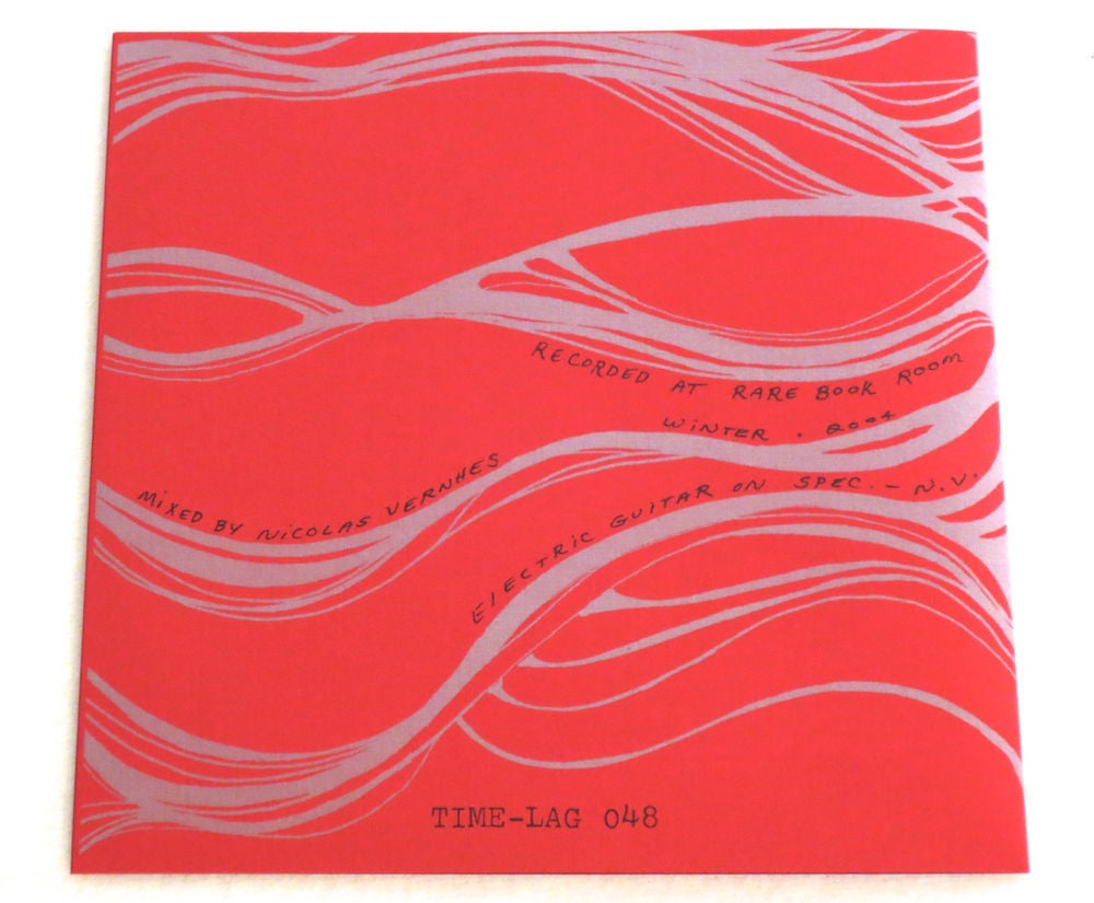 Image of SAMARA LUBELSKI ~ DID YOU SEE? / SPECTACULAR OF PASSAGES ~ 7inch (TIME-LAG 048)