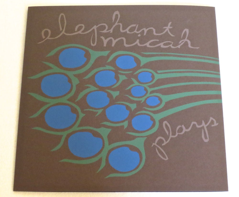 Image of ELEPHANT MICAH ~ PLAYS THE SONGS OF BIBLE BIRDS ~ lp (TIME-LAG 047)