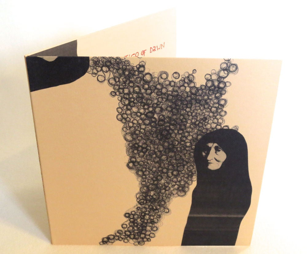 Image of ILYAS AHMED ~ THE VERTIGO OF DAWN ~ lp (TIME-LAG 042)