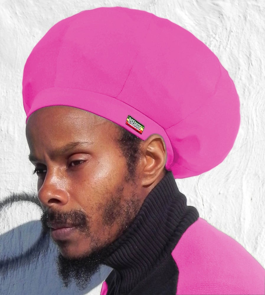 Image of Jah Roots Stretch Hats (Pink)