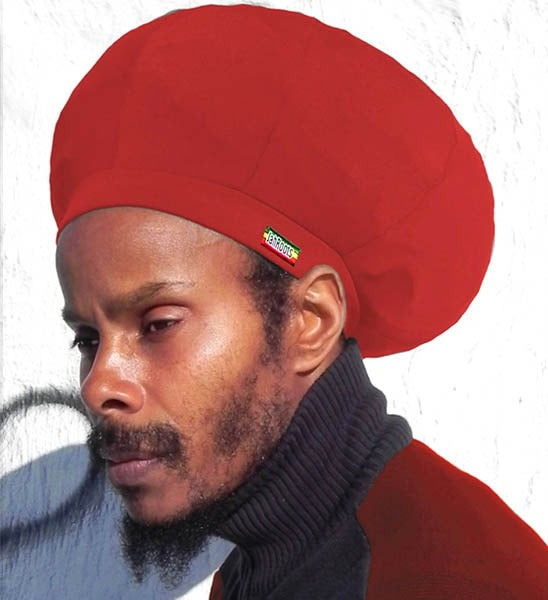 Image of Jah Roots Stretch Hats (Red)