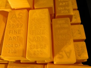 "Image of Fake ""Gold"" Bar"