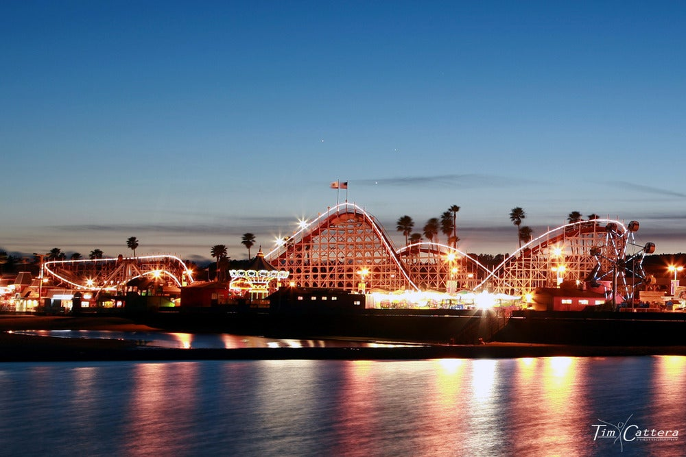Image of Santa Cruz Beach Boardwalk: Giant Dipper
