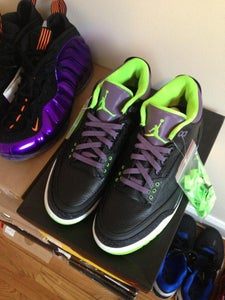 Image of JORDAN RETRO JOKER 3 SZ 10.5 DS
