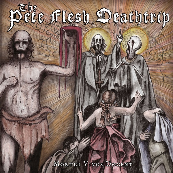 "Image of THE PETE FLESH DEATHTRIP ""Mortui Vivos Docent"" CD"