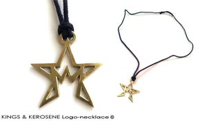 "Image of Kings & Kerosene ""Crownstar"" Logo-necklace"