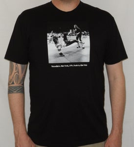 "Image of Roller Derby ""Uniondale, New York, 1974"" MEN'S shirt (Black)"