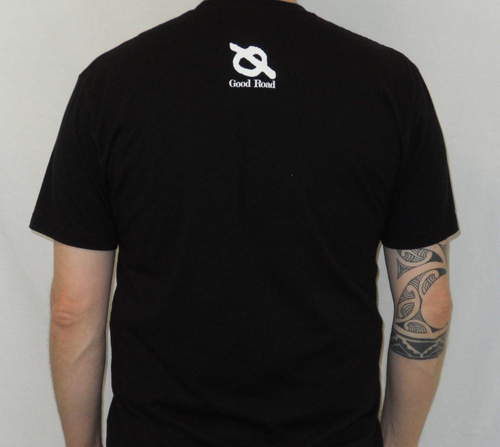 "Image of ""San Diego 1994"" [Antioch Arrow] MEN'S Shirt (Black)"
