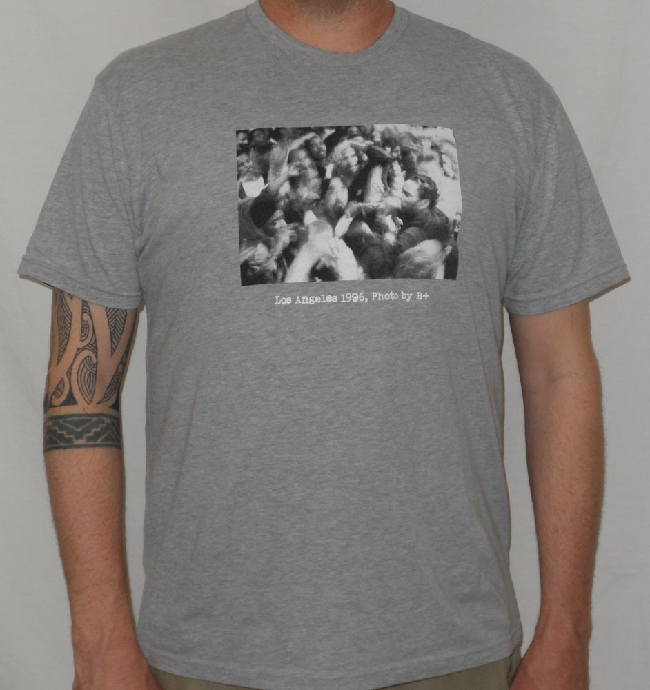 "Image of B+ ""Los Angeles 1996"" MEN'S Shirt (Grey)"