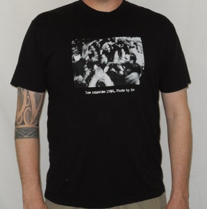 "Image of B+ ""Los Angeles 1996"" MEN'S Shirt (BLACK)"