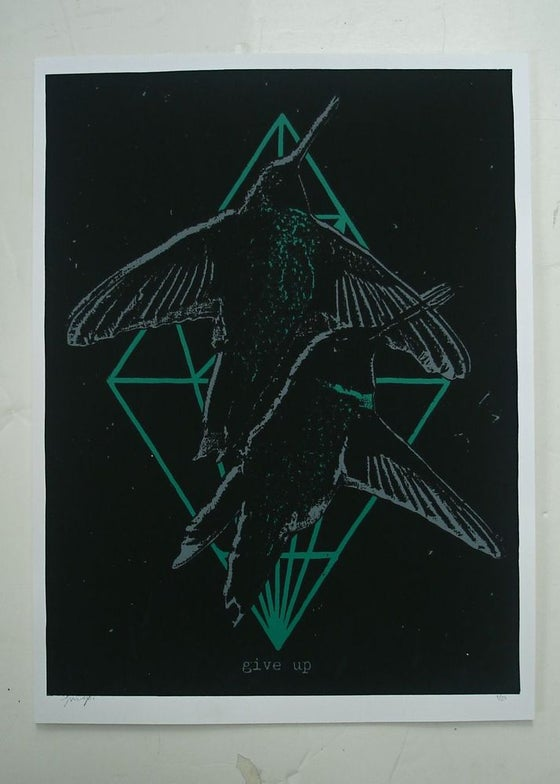 Image of 'two birds' print