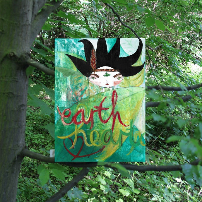 Image of eartHeart - Eco-warrior Bhoomie