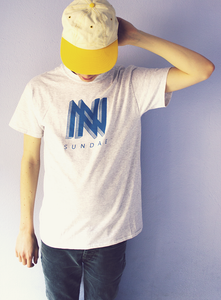 Image of Sundae BLUE Logo T-Shirt