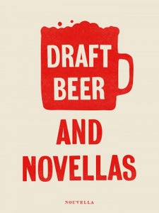 Image of Novellas + beer poster