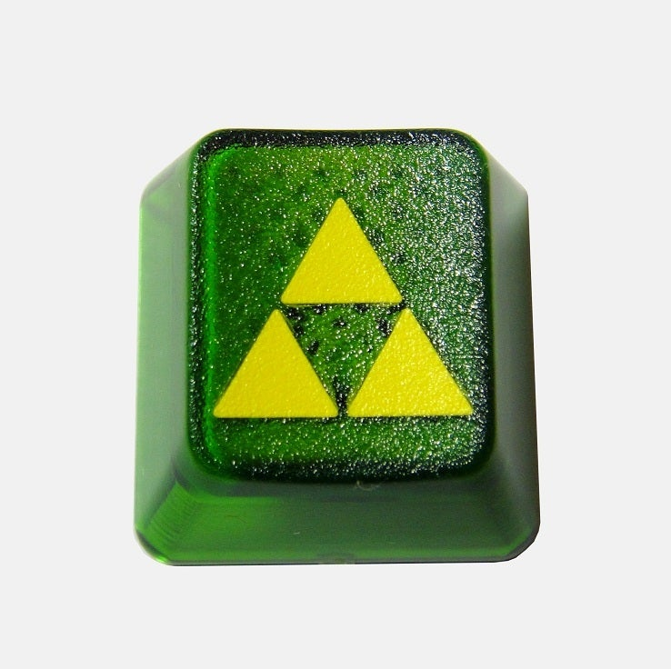 Image of Translucent Triforce Keycap