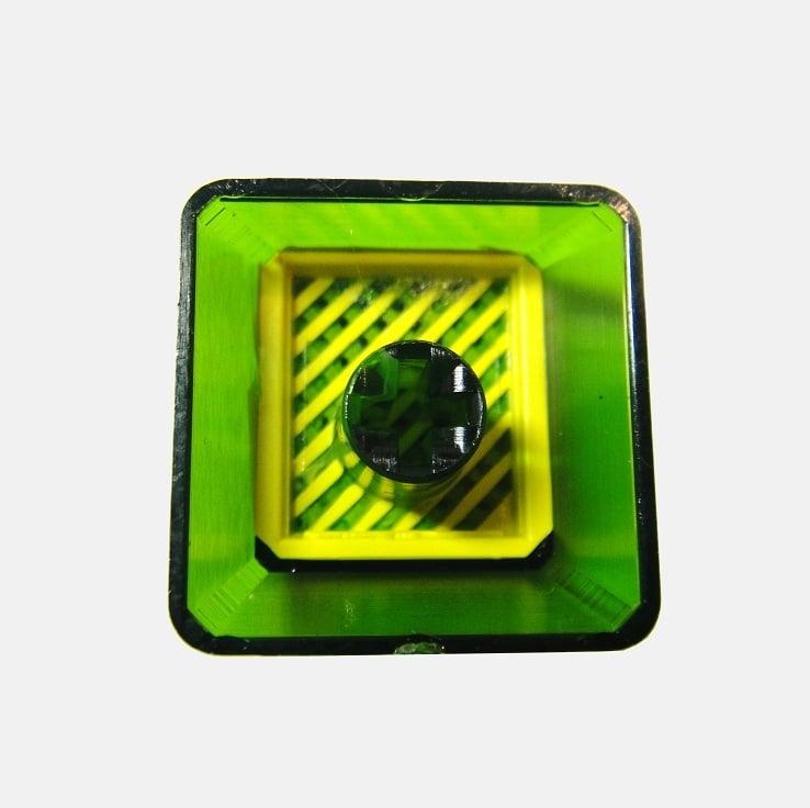 Image of Translucent Triforce Keycap
