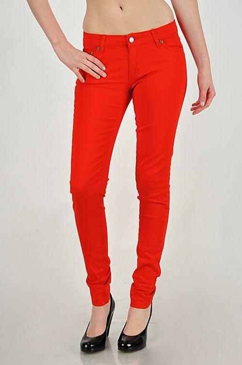 Red/Orange Jeans