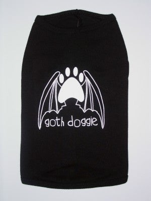 Image of Goth Doggie - Dog Tee
