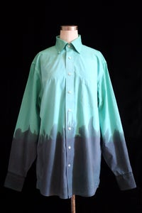 "Image of Dress Shirt, Parakeet ""Ombre"" Pattern"