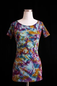 "Image of Shirt, Seafoam ""Magmatic Earthquake"" Pattern"