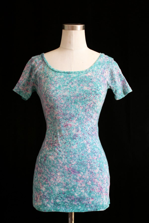 "Image of Shirt, Parakeet ""Cherry Blossoms"" Pattern"