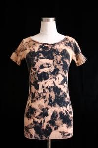 """Image of Shirt, Gray """"Glacial Calve"""" Pattern"""