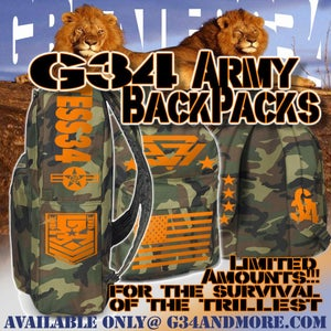 Image of G34 CamoLarge Backpack