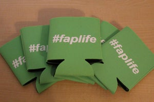 Image of #faplife Coozie