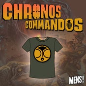 Image of Chronos Commandos T-shirts Mens Green
