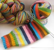 Image of **pre order** Nimbus sock yarn in MIND THE GAP