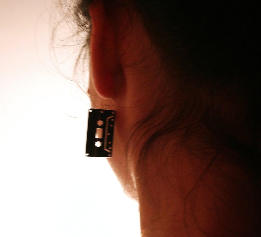 Image of Cassette earrings