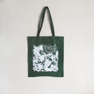 Image of Keepsafe 'Green & White' Tote Bag