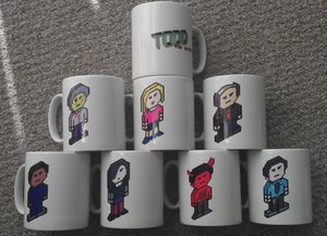 Image of Todd the Zombie Character Mug