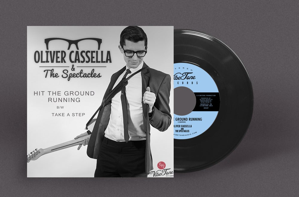 Image of Hit The Ground Running - Vinyl