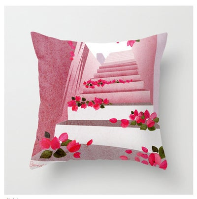 Image of BOUGAINVILLEA CUSHION