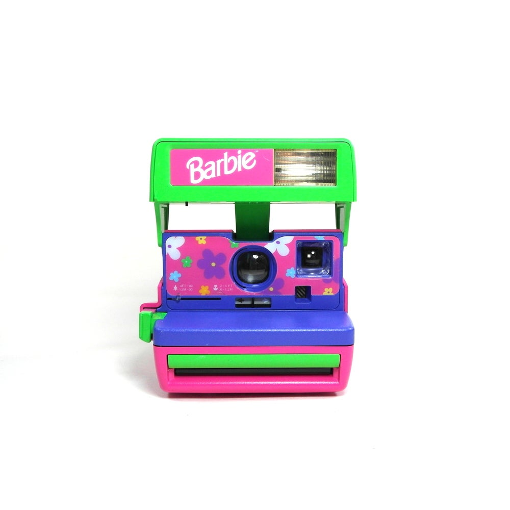 Image of Polaroid 600 Barbie Edition