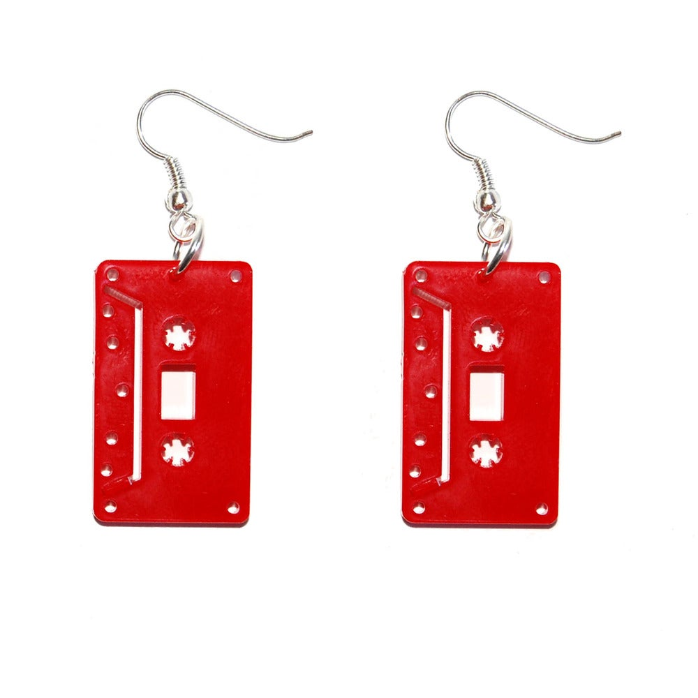 Cassette earrings