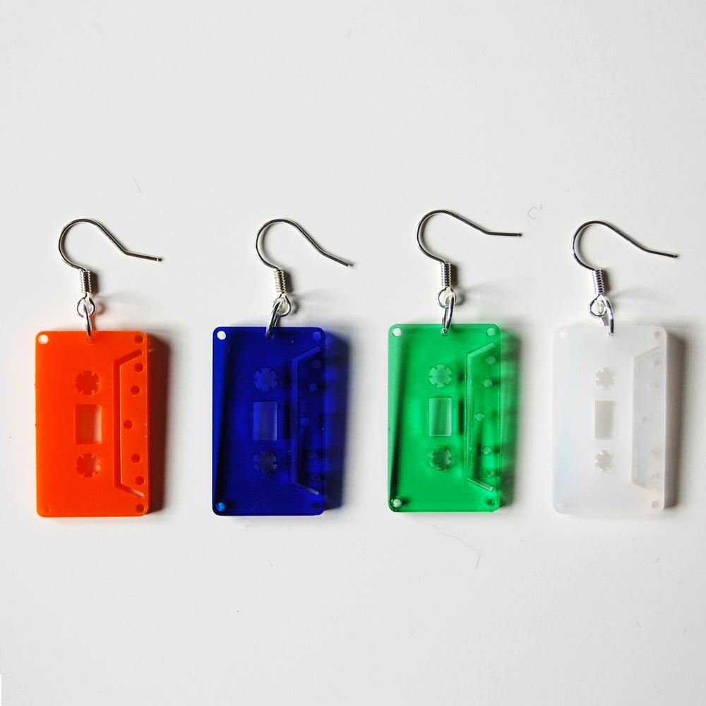 Cassette earrings