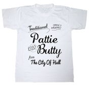 Image of Hull Loves Pattie Butty White T-Shirt