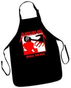 "Image of ""GRILL EM' ALL"" BBQ Apron"