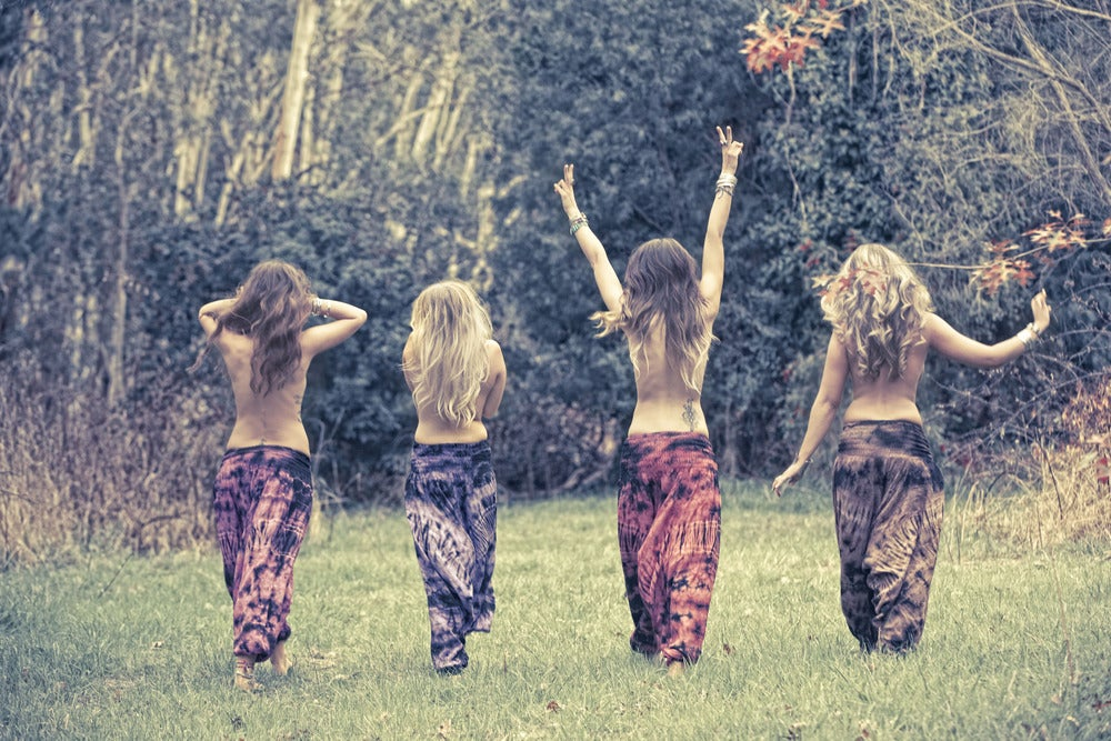 Image of Rancho Relaxo tiedye harem pants